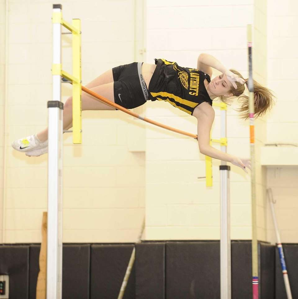 St. Anthony's Jamie Kallipozis placed second in the