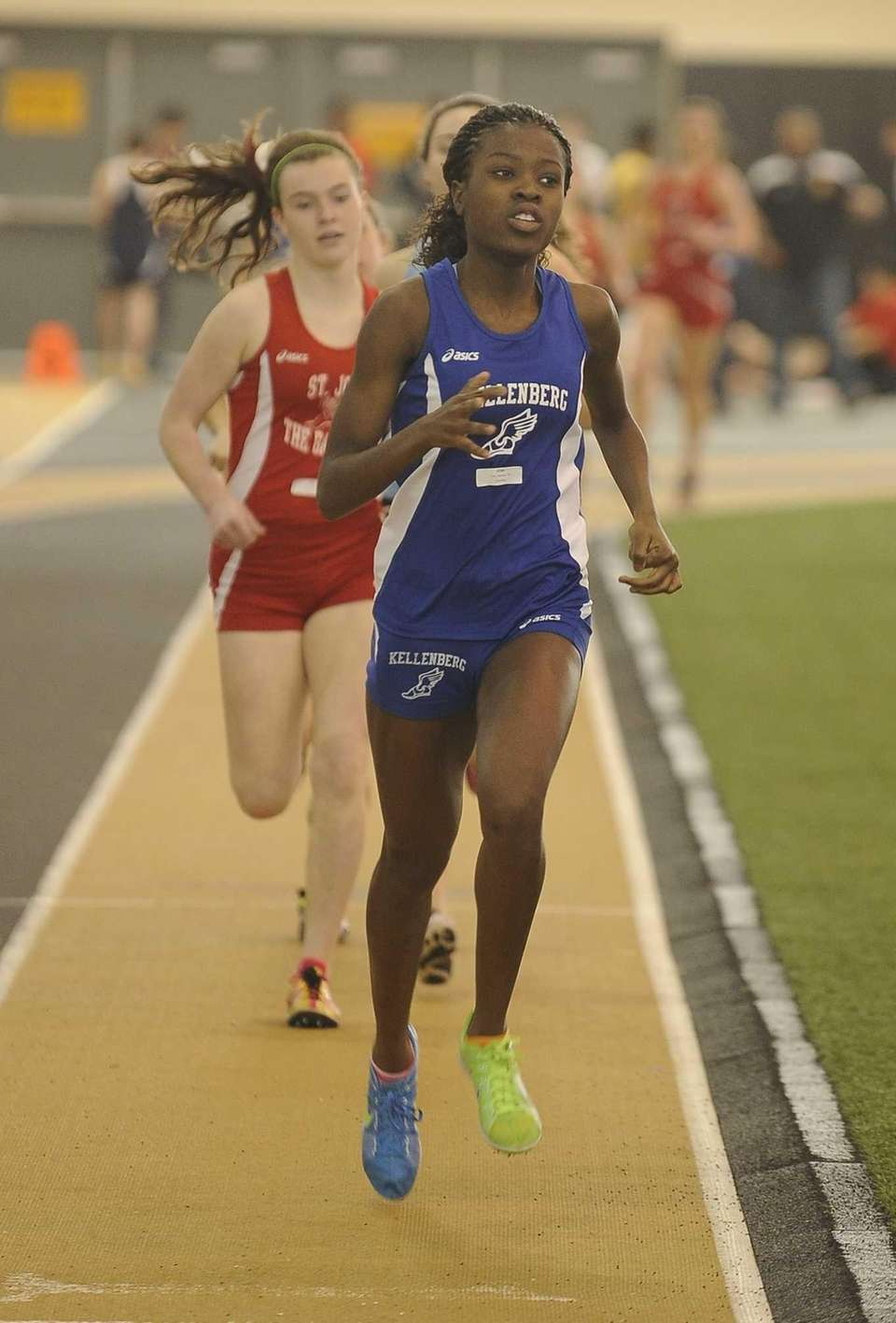 Kellenberg's Jasmine Fray placed first in the girls