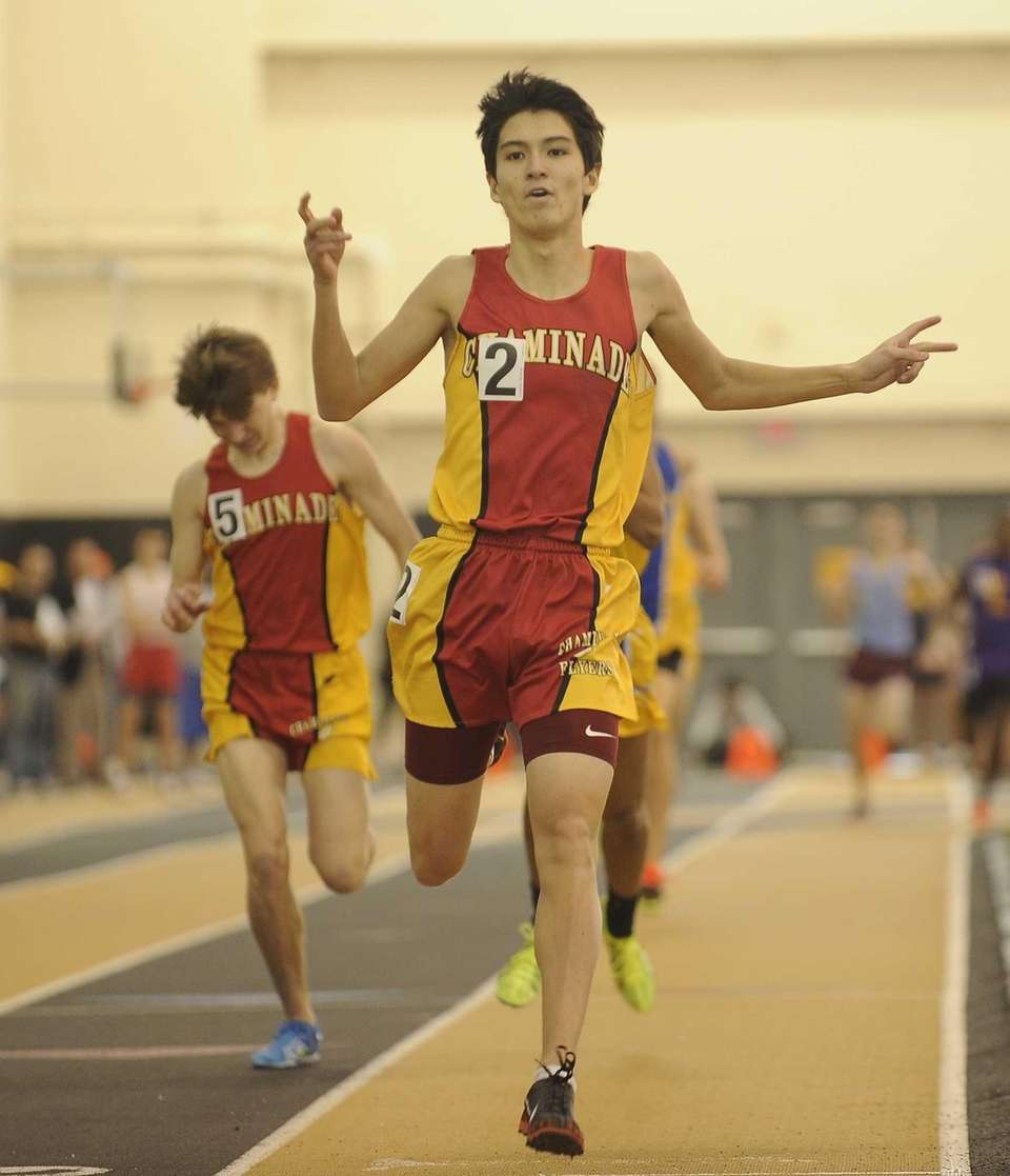 Chaminade's Sean Kelly takes first place in the