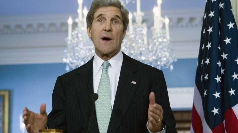 Secretary of State John Kerry at the State