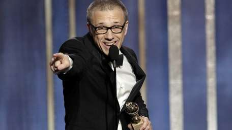 Christoph Waltz, winner of the best supporting actor