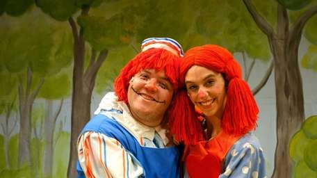 Bobby Montaniz as Raggedy Andy and Jacqueline M.