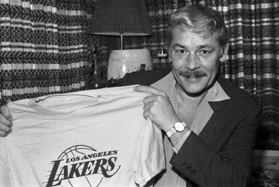 Jerry Buss was the Los Angeles Lakers' playboy