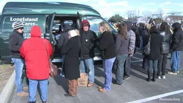Long Island Cares, which handed out much-needed supplies
