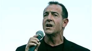 Michael Lohan, father of Lindsay Lohan, speaks during