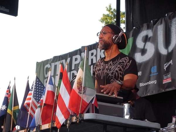 Clive Campbell, also known as Kool Herc, DJ
