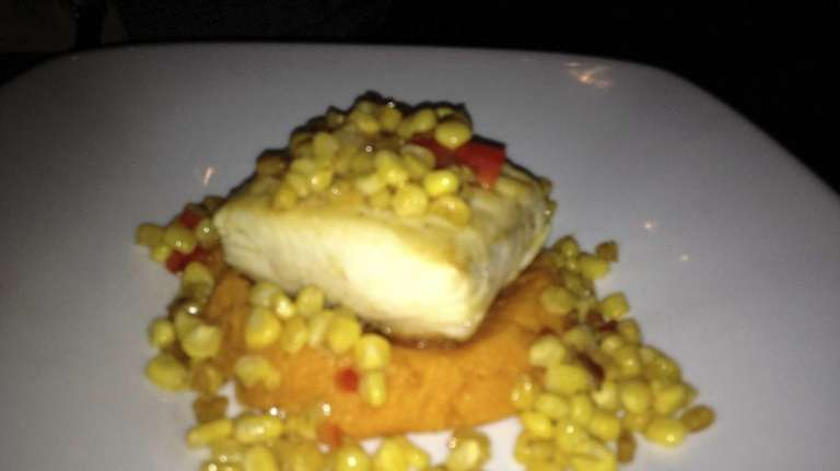 Pacific halibut is served at the West End