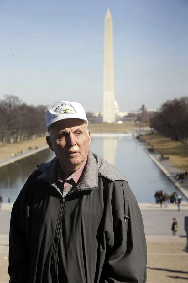 Indiana farmer Vernon Hugh Bowman, 75, used a