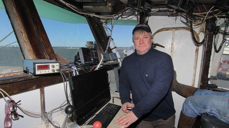 LI fisherman Frank Green, from Oakdale, rescued a