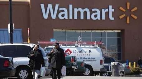 A report said Walmart is worried about sales.