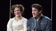 Maggie Siff and Jonathan Cake in quot;Much Ado