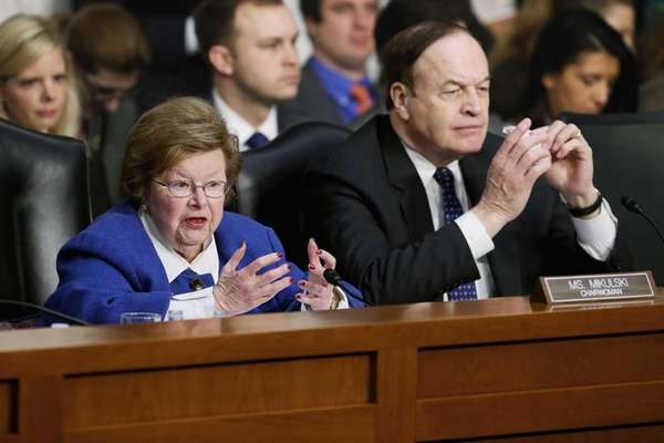 Senate Appropriations Committee Chairwoman Barbara Mikulski (D-Md.) and