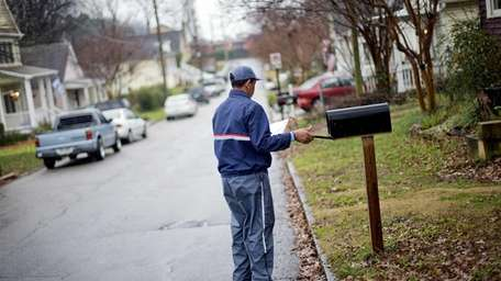 Michael McDonald, a Postal Service letter carrier for
