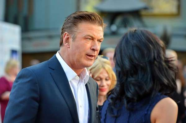 Actor Alec Baldwin arrives at the premiere of