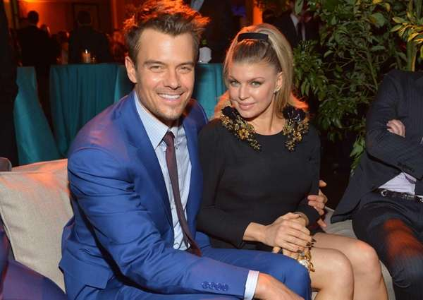 Josh Duhamel and Fergie attend the quot;Safe Havenquot;