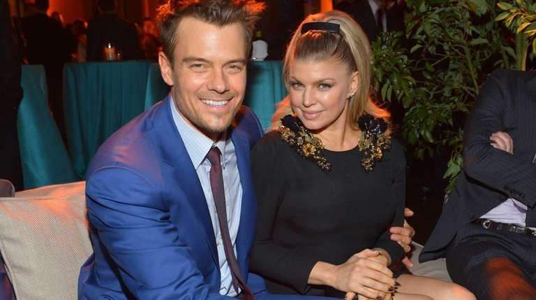 Josh Duhamel and Fergie attend the
