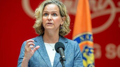 Nassau County Executive Laura Curran said the benefits