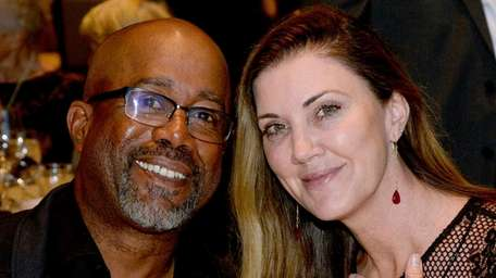 Darius Rucker and wife Beth Leonard announced in