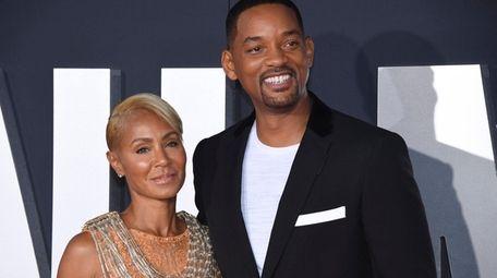 Spouses Jada Pinkett Smith and Will Smith say