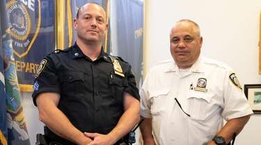 MTA Police officers Sgt. Michael Arcati and Lt.
