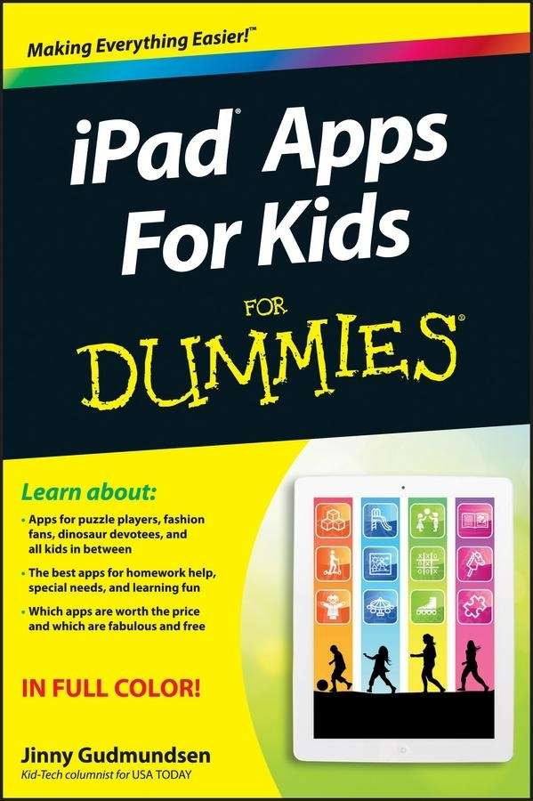 quot;iPad Apps for Kids for Dummies,quot; by Jinny