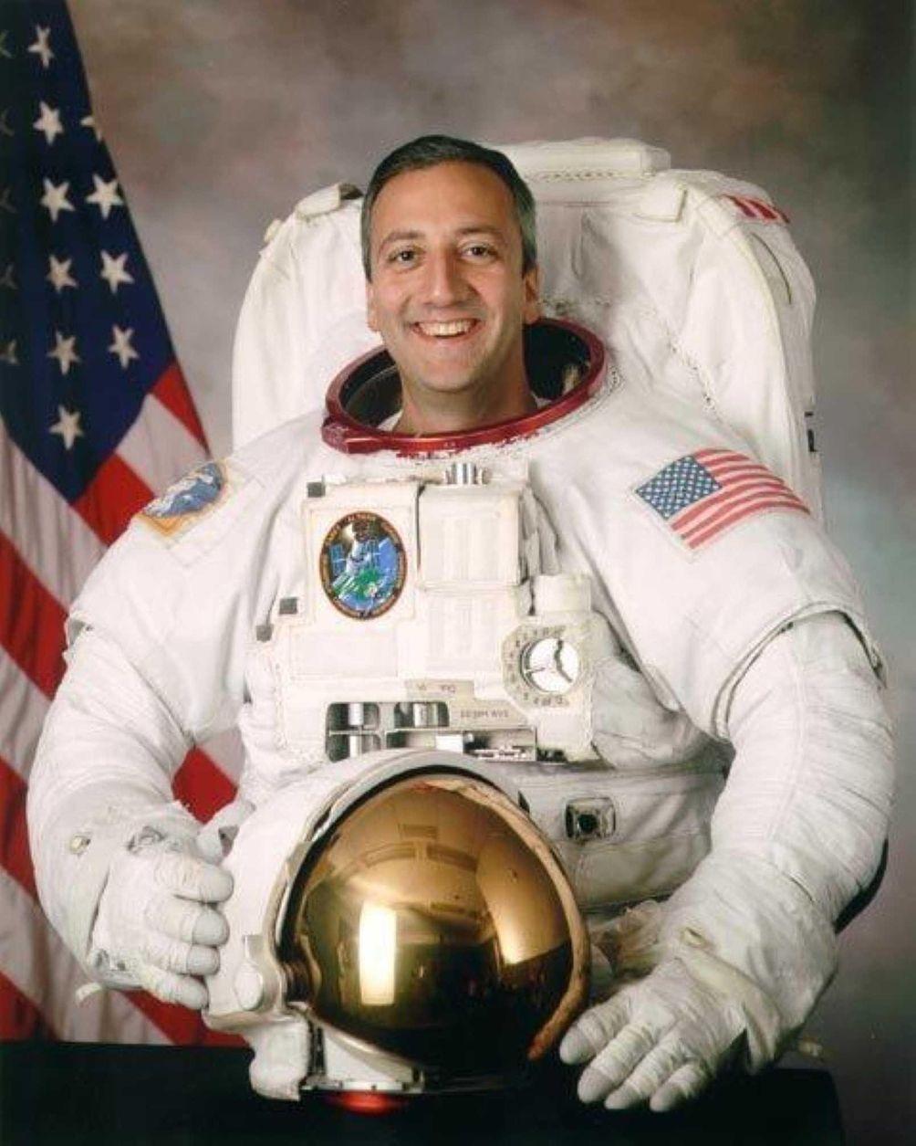 Astronaut Michael Massimino grew up in Franklin Square
