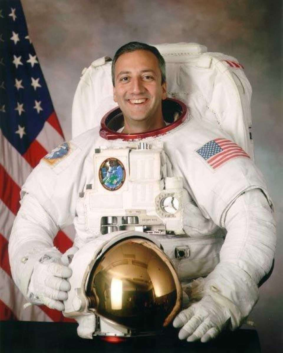 Astronaut Michael Massimino grew up in Franklin Square