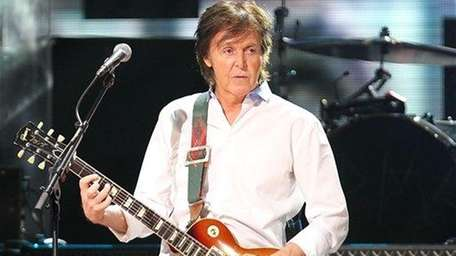 Paul McCartney at the 12-12-12 The Concert for