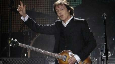 Paul McCartney is among the headliners at the
