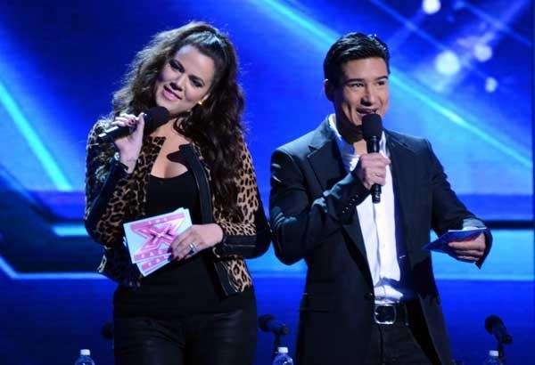 Khloe Kardashian and Mario Lopez on quot;X