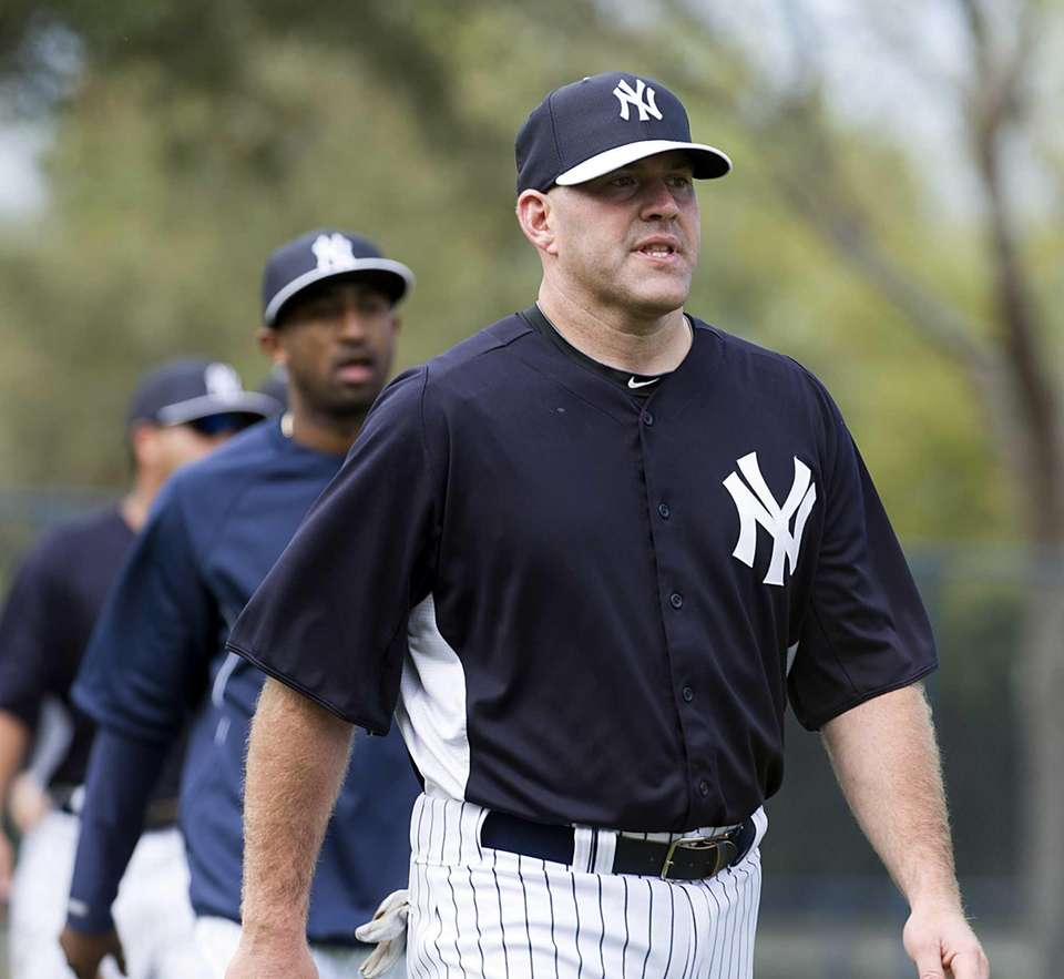 Kevin Youkilis and Eduardo Nunez take part in