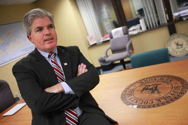 Steve Bellone reflects on his first year in