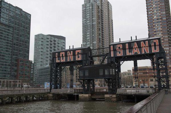 Street scenes from Long Island City in Queens.