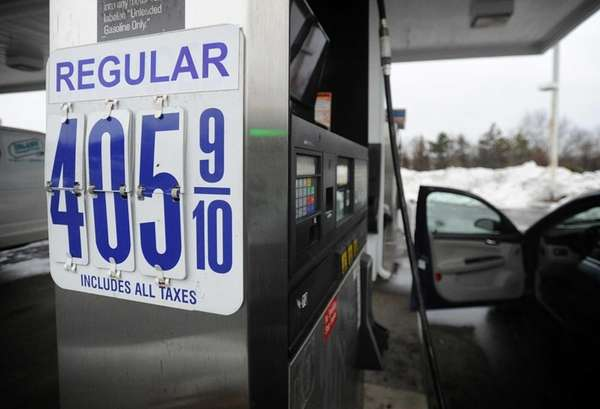 Regular gas costs $4.05 per gallon at a