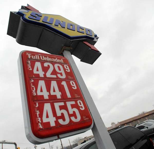 Regular gas is priced at $4.29 per gallon
