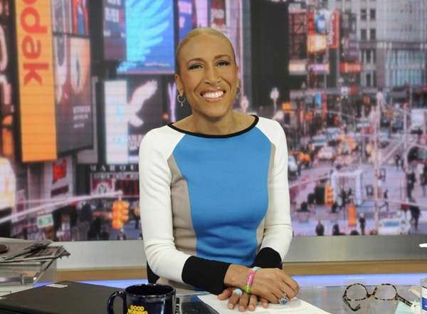 Robin Roberts on quot;Good Morning Americaquot; in Manhattan