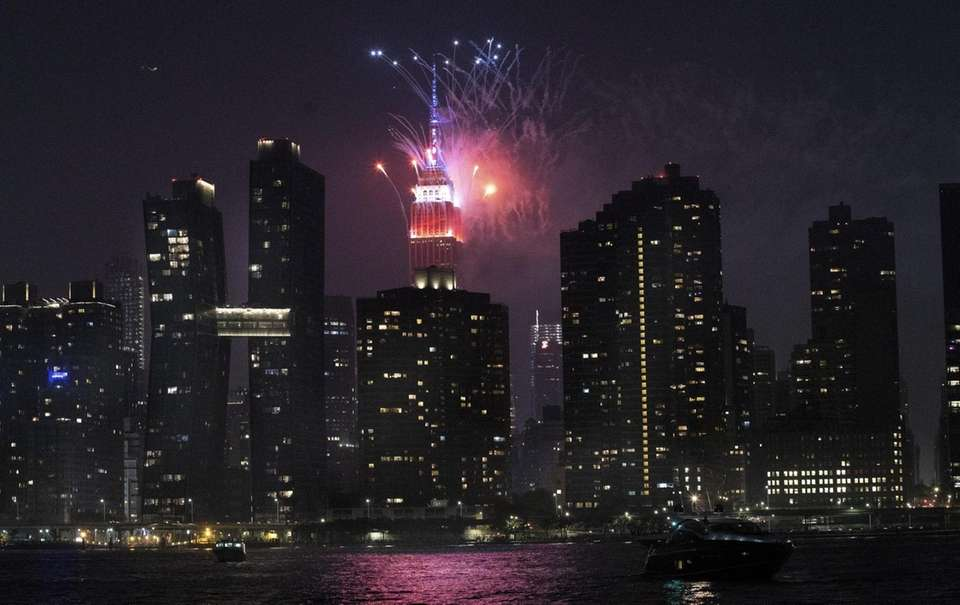 The Macy's 4th of July Fireworks show of