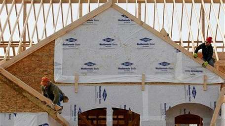 A new home is constructed in Pepper Pike,