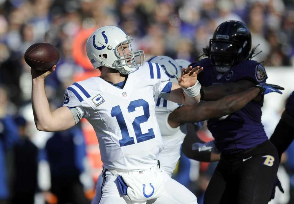 2012: ANDREW LUCK, QB, Indianapolis Colts Luck took