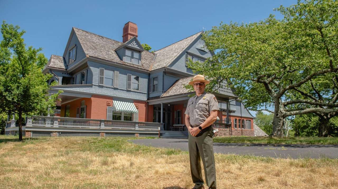 Sagamore Hill in Oyster Bay, historic home of