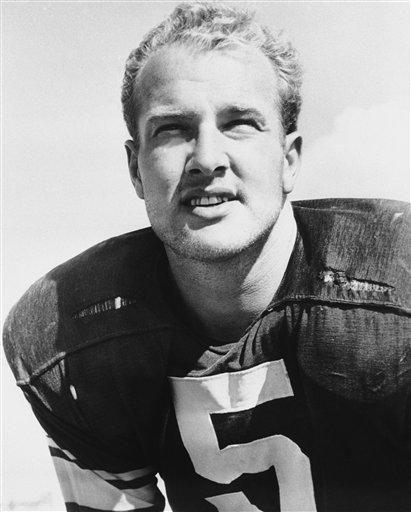 1957: PAUL HORNUNG, HB, Green Bay Packers Hornung