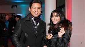 Mario Lopez and wife Courtney Laine Mazza warm