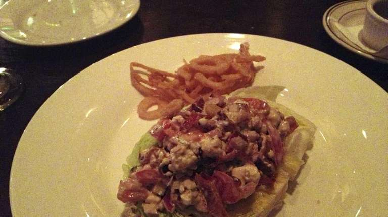 The iceberg wedge served at Savoy Tavern in