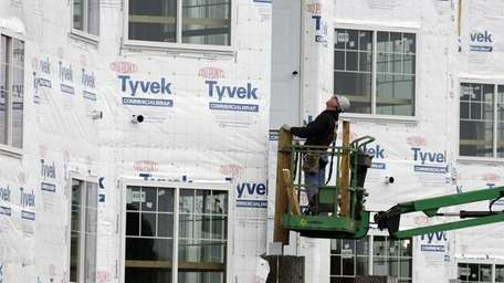 Builders broke ground in January on the most