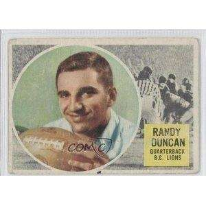 1959: RANDY DUNCAN, QB, Green Bay Packers The