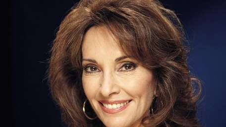 Actress Susan Lucci, best known for her role