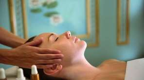 "Mirbeau's spa menu includes ""vinotherapie"" treatments developed by"