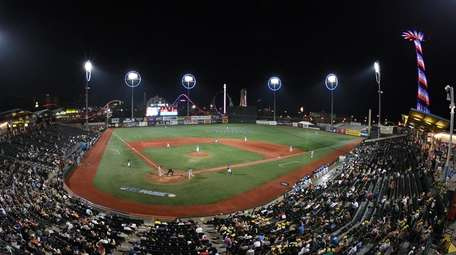 A general view of MCU Park on Thursday,