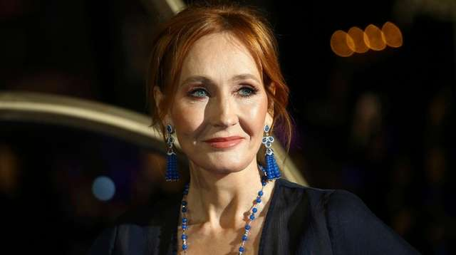 Author  J.K. Rowling was among other big
