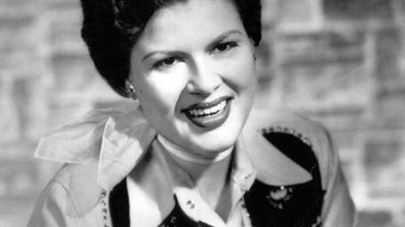 Country singer Patsy Cline, who was inducted into